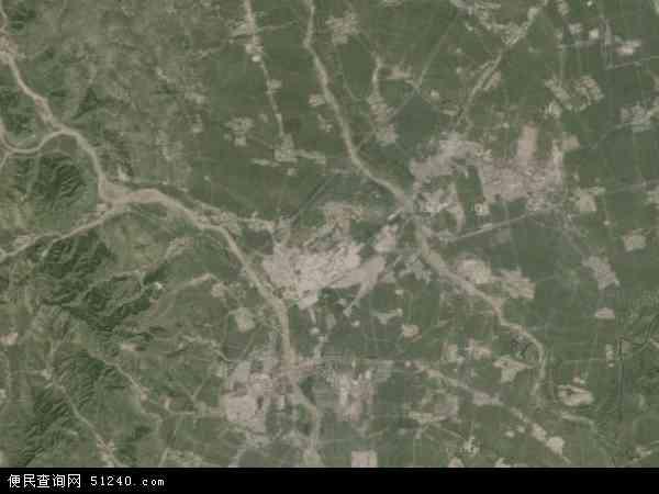 中国辽宁省阜新市清河门区地图(卫星地图)
