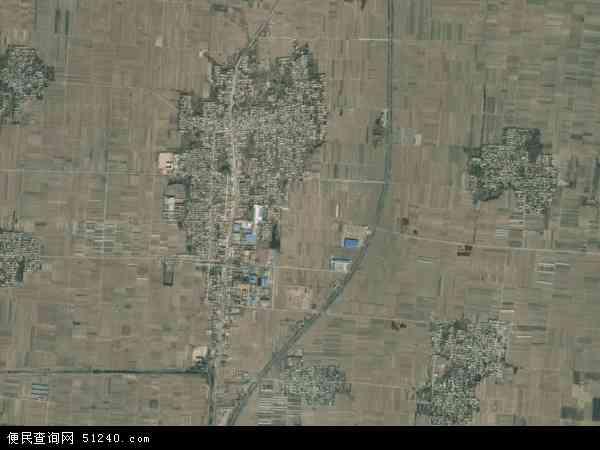 中国河北省邢台市威县七级镇地图(卫星地图)