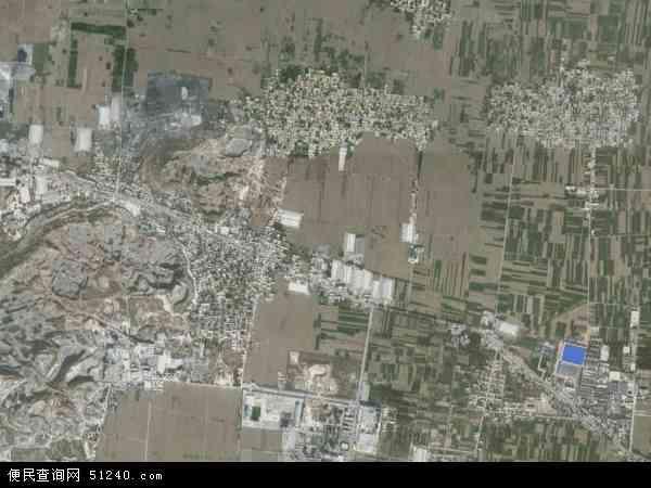 中国河北省邢台市隆尧县山口镇地图(卫星地图)