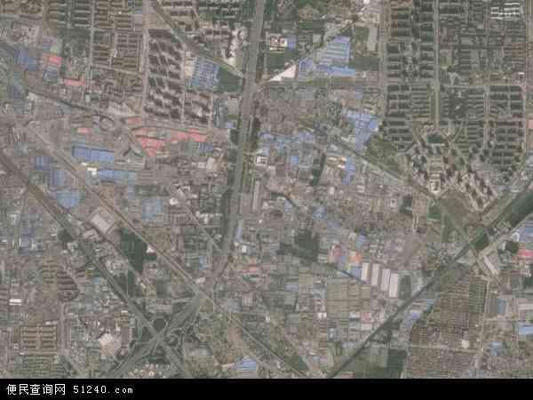 2015年十八里店高清卫星地图