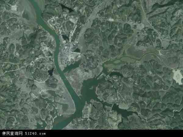 中国广东省湛江市廉江市石角镇地图(卫星地图)