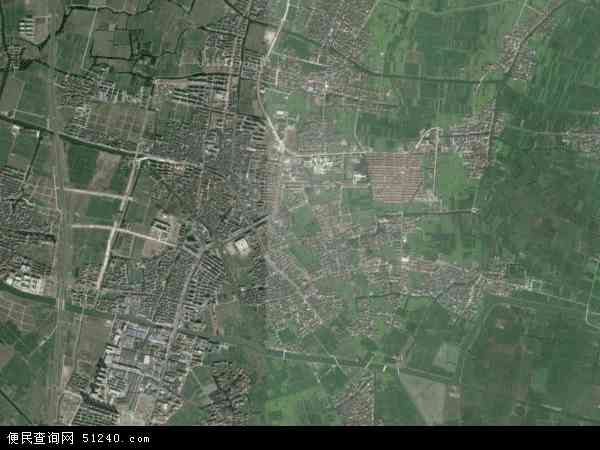 中国浙江省绍兴市上虞市崧厦镇地图(卫星地图)