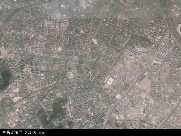 中国山东省青岛市市北区水清沟地图(卫星地图)