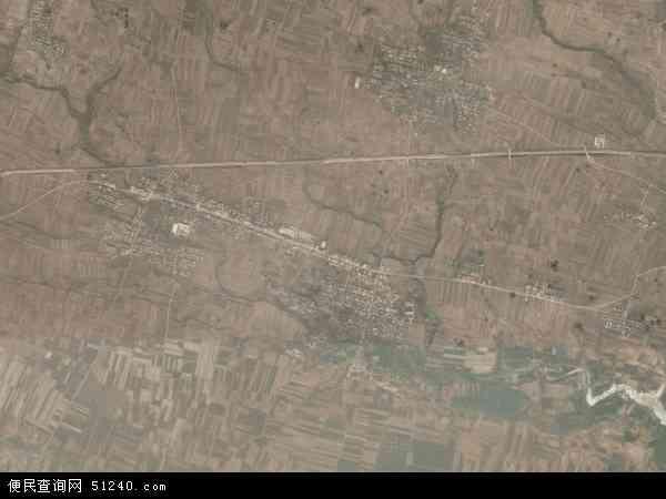 中国河南省三门峡市渑池县天池镇地图(卫星地图)