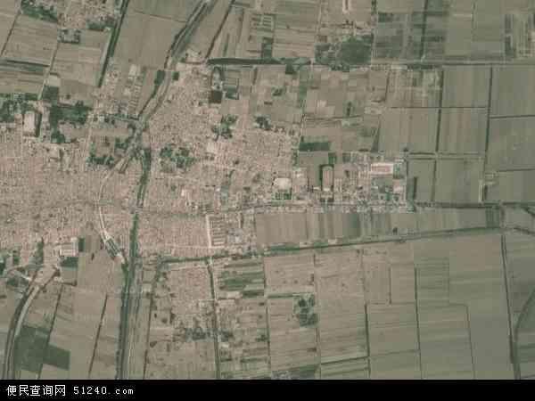 中国天津市静海县王口镇榜样(卫星高中)就我们身边地图在地图图片