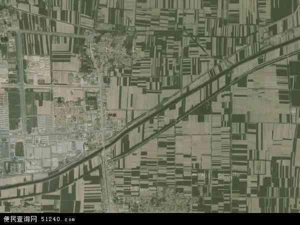 中国山东省滨州市邹平县魏桥镇地图(卫星地图)