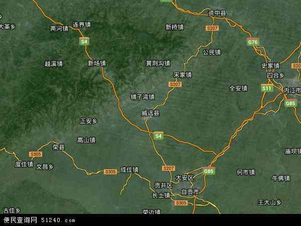 四川 地图 电子 版 清晰