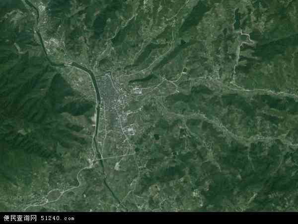 中国浙江省绍兴市上虞市下管镇地图(卫星地图)