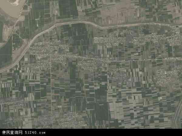 中国陕西省渭南市华县下庙镇地图(卫星地图)
