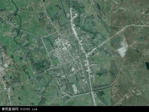 中国安徽省合肥市长丰县下塘镇地图(卫星地图)