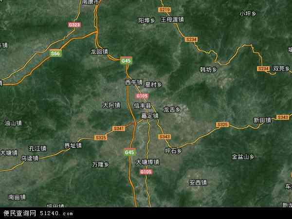 县地图 信丰县卫星地图 信丰县高清航拍地图 信丰县高清卫星地图 信图片