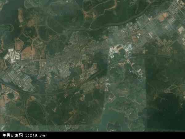 2015年犀牛陂村高清卫星地图