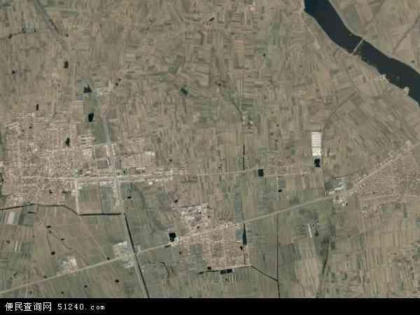中国山东省烟台市莱阳市穴坊镇地图(卫星地图)