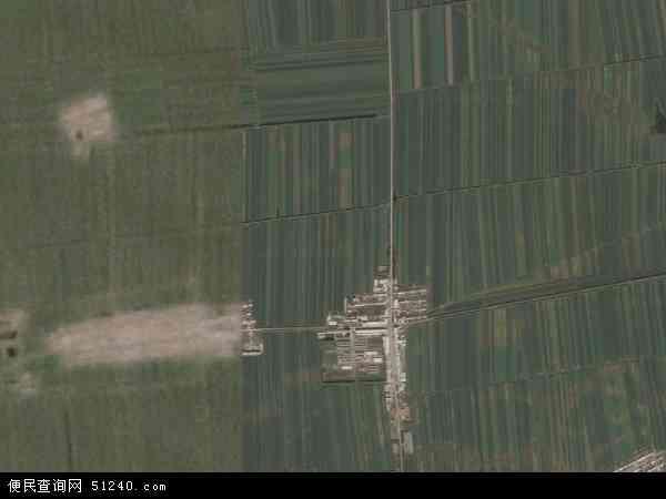 中国黑龙江省绥化市海伦市永富乡地图(卫星地图)