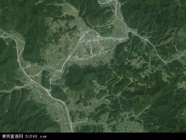 中国浙江省金华市浦江县虞宅乡地图(卫星地图)
