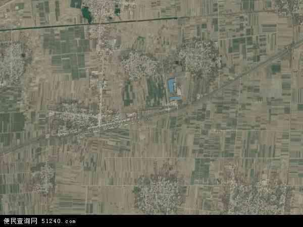 中国河北省邢台市巨鹿县阎疃镇地图(卫星地图)