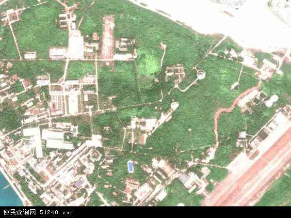 永兴岛地图 - 永兴岛卫星地图