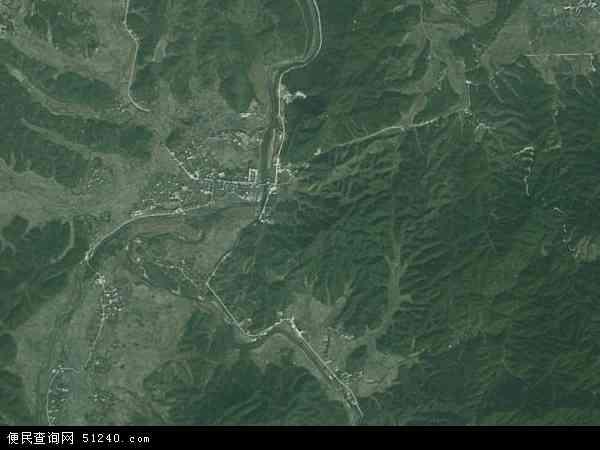 中国江西省抚州市乐安县招携镇地图(卫星地图