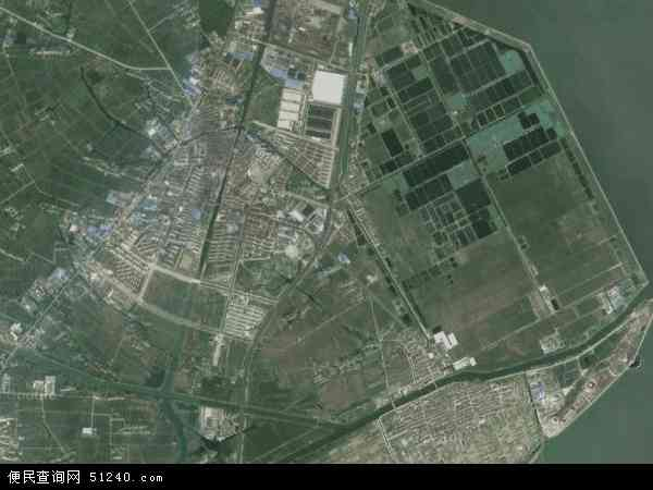 周铁镇高清卫星航拍地图
