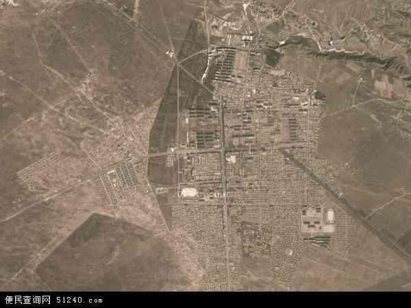 中国青海省海南藏族自治州兴海县子科滩镇地图(卫星地图)