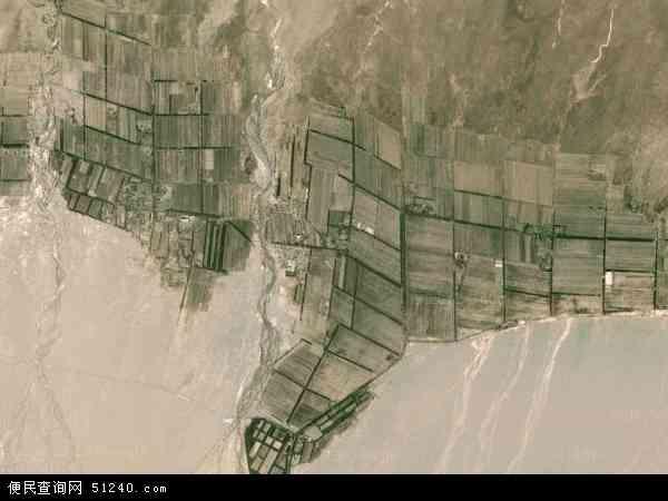 中国青海省海西蒙古族藏族自治州都兰县宗加镇地图(卫星地图)