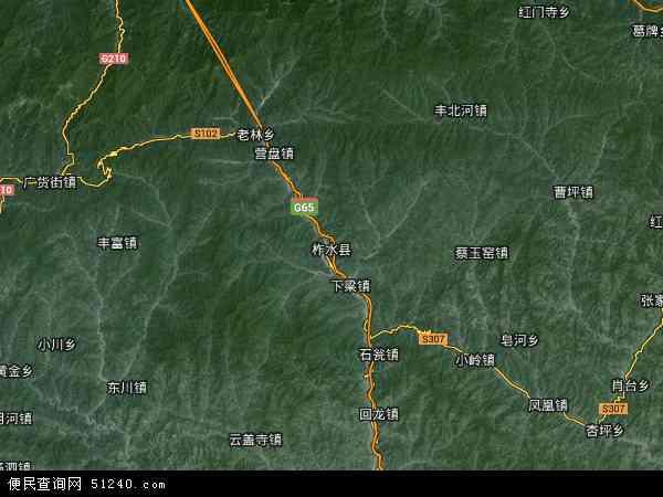 柞水县地图 柞水县卫星地图 柞水县高清航拍地图 柞水县高清卫星地图