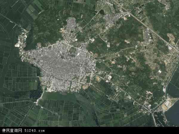 洲镇高清卫星地图 洲镇2016年卫星地图 中国广东省潮州市饶平县 洲