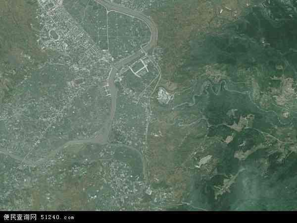 中国贵州省遵义市余庆县白泥镇地图(卫星地图)