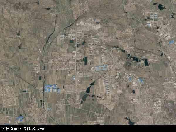 中国山东省烟台市莱阳市柏林庄地图(卫星地图)