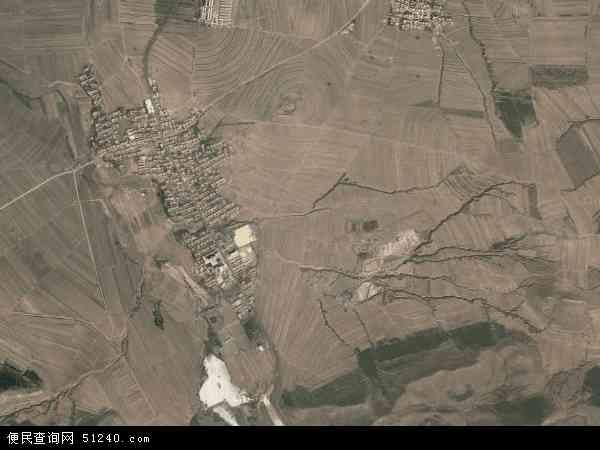 中国辽宁省朝阳市建平县白山乡地图(卫星地图)