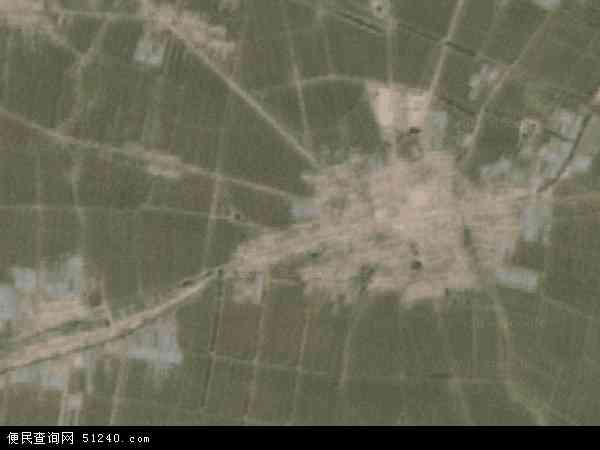 中国辽宁省锦州市黑山县半拉门镇地图(卫星地图)