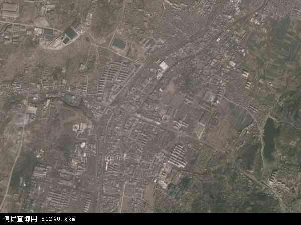 白塔镇地图 - 白塔镇卫星地图
