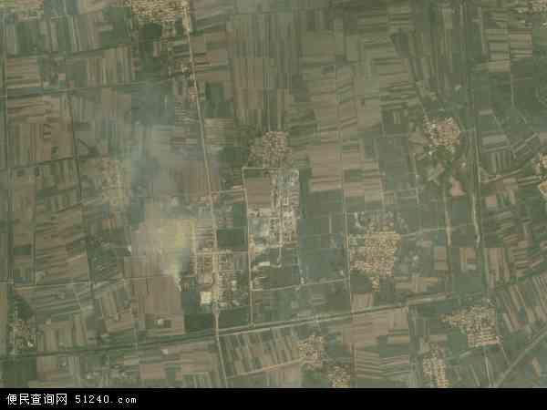 中国山东省淄博市高青县常家镇地图(卫星地图)