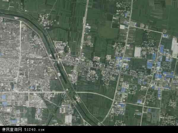 中国安徽省宿州市埇桥区城东地图(卫星地图)