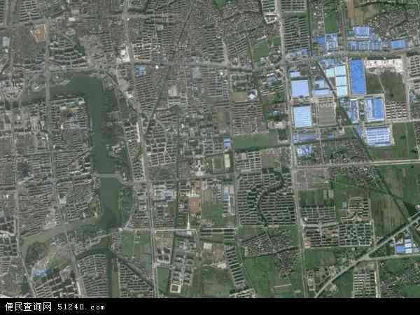 泰州海陵_城东地图 - 城东卫星地图 - 城东高清航拍地图