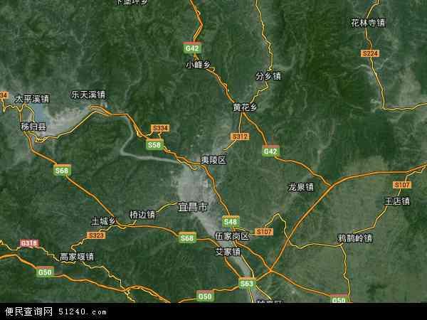 邓村乡地图 - 邓村乡卫星地图