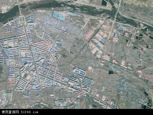中国黑龙江省牡丹江市东宁县东宁镇地图(卫星地图)