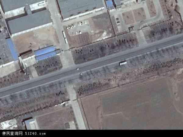 中国山东省烟台市莱阳市冯格庄地图(卫星地图)