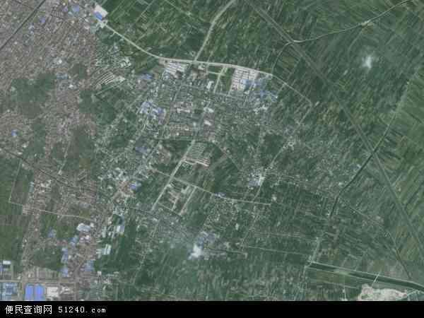 中国浙江省宁波市慈溪市附海镇地图(卫星地图)