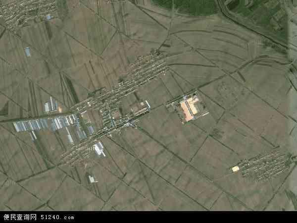 中国吉林省松原市扶余市更新乡地图 卫星地图