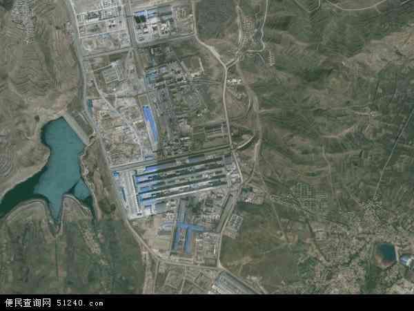 甘河滩镇高清卫星地图 甘河滩镇2017年卫星地图 中国青海省西宁市图片