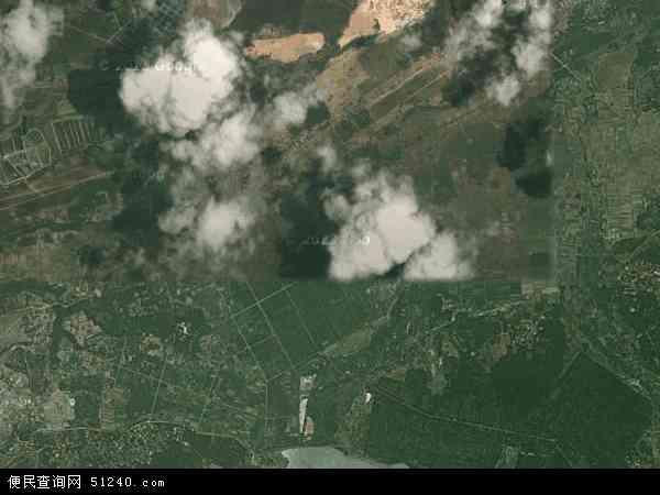 中国海南省省直辖县级行政区划儋州市光村镇地图