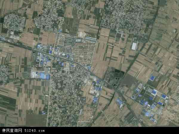 中国河南省新乡市新乡县古固寨镇地图(卫星地图)