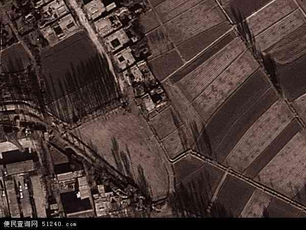 中国甘肃省酒泉市金塔县航天镇地图(卫星地图)