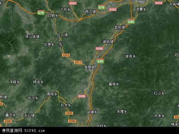 县地图 会昌县卫星地图 会昌县高清航拍地图 会昌县高清卫星地图 会图片