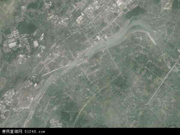 中国浙江省衢州市江山市贺村镇地图(卫星地图)