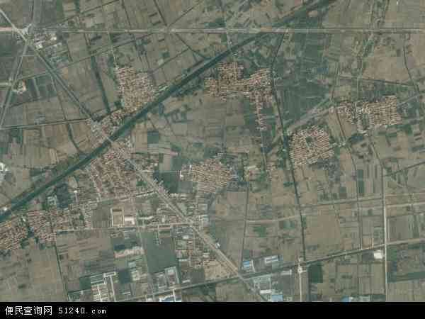 河流镇地图 - 河流镇卫星地图 - 河流镇高清航拍