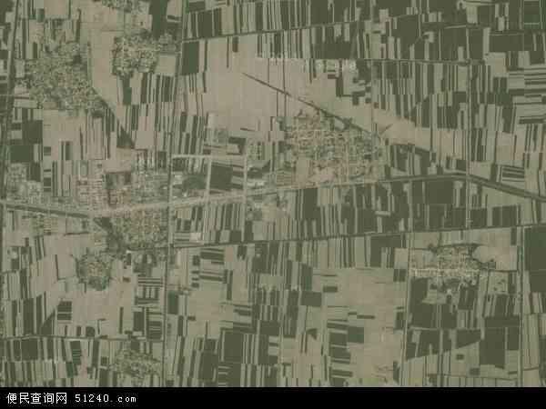 中国山东省滨州市邹平县九户镇地图(卫星地图)