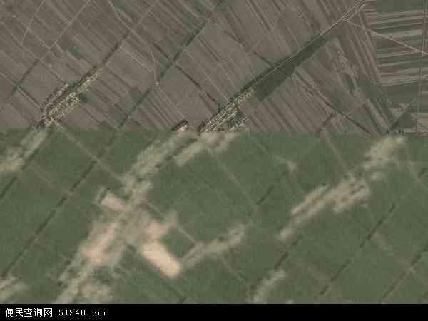 中国吉林省四平市梨树县金山乡地图(卫星地图)