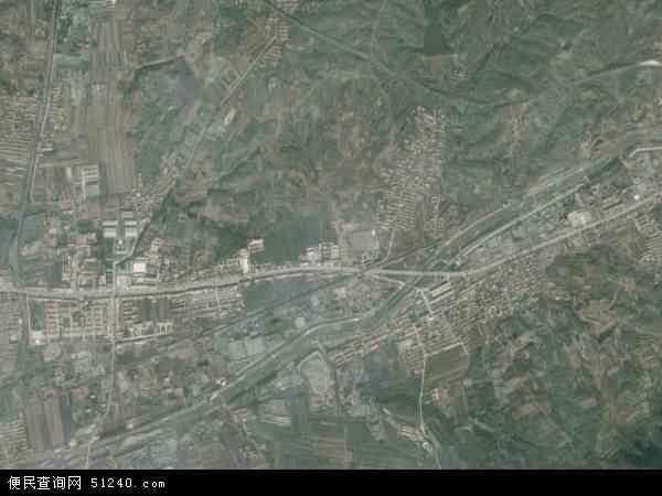 中国河北省唐山市遵化市建明镇地图(卫星地图)